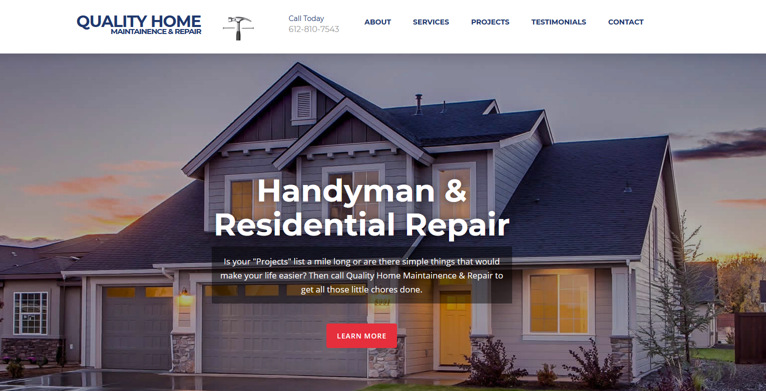 Quality Home Maintainence & Repair